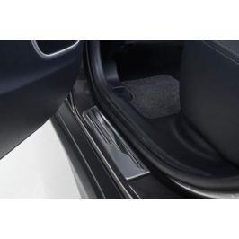 Накладки на дверные пороги (хром) Mitsubishi MZ380550EX для Mitsubishi ASX 2016 -