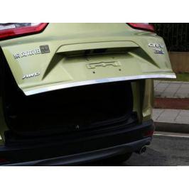 Декоративная накладка на крышку багажника (хром) для Honda CRV 2017 -
