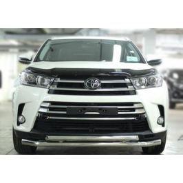 Дефлектор капота (черный) Toyota NLD21-60813 для Toyota Highlander 2017 -