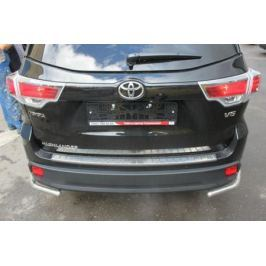 Накладка защитная на порог заднего бампера Toyota PU060-48214-EU для Toyota Highlander 2017 -