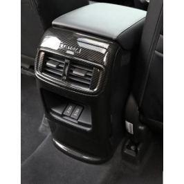 Накладка на тумбу подлокотника (разные цвета) для Honda CRV 2017 -