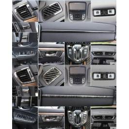 Декоративные накладки на элементы салона для Honda CRV 2017 -