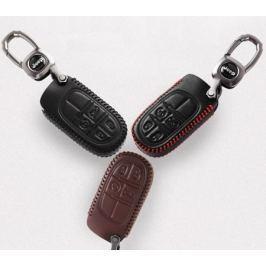 Чехол для ключа (цвет черный, коричневый) для Jeep Сherokee 2015 -