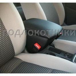 Подлокотник (черный, кожа) Опора России 0012 для Volkswagen Tiguan