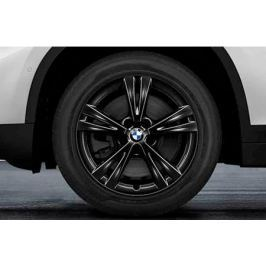Зимнее колесо в сборе R17 Double Spoke 385 (Bridgestone Blizzak LM001 RFT (RSC) 36112409013 для BMW X1 (F48) 2015-
