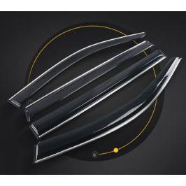 Дефлекторы боковых окон с хромированным молдингом CHN для Volkswagen Teramont
