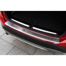 Защитная накладки на багажный проем и задний бампер CHN для BMW X1 (F48) 2015 -