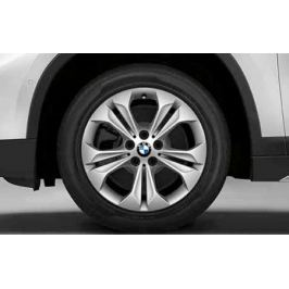 Зимнее колесо в сборе R17 Double Spoke 564 (Pirelli Winter Sottozero 3 Run Flat (RSC) нешип) 36112409017 для BMW X1 (F48) 2015-