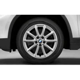 Зимнее колесо в сборе R17 V-Spoke 560 (Goodyear Ultra Grip 8 Performance,нешип) 36112409015 для BMW X1 (F48) 2015-