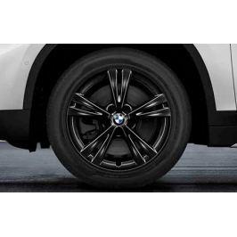 диск колесный R17 Double Spoke 385 (черный) 36106866673 для BMW Х1 (F48) 2015-