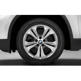 Диск колесный R17 Double-spoke style 564 Silver 36116856065 Для BMW X1 (F48) 2015-