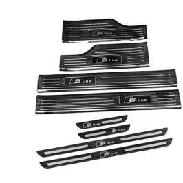 Защитные накладки на пороги S-line для AUDI Q7 2016 -