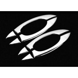 Хромированные накладки на верх дверных ручек для AUDI Q7 2016 -