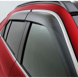 Дефлекторы на окна с хром молдингом MZ562928EX для Mitsubishi Eclipse Cross 2018 -