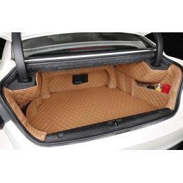 3D-коврик в багажник (цвет бежевый, черный) для Geely Emgrand GT 2017 -