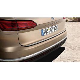 Наклейка защитная на задний бампер (прозрачная) VAG 760061197 для Volkswagen Touareg 2018 -