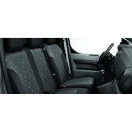 Чехлы передних сидений (тканевые) для нераздельного сиденья пассажира Peugeot 1614270080 для Peugeot Traveller 2017 -