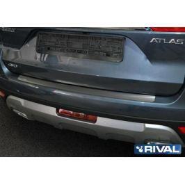 Накладка багажника Rival для Geely Atlas 2018 -
