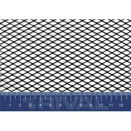 Индивидуальная защитная сетка радиатора 1000х400 R10 Alu черная (1 шт.)