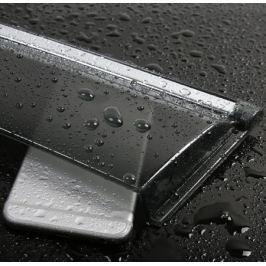 Дефлекторы боковых окон с хромированным молдингом