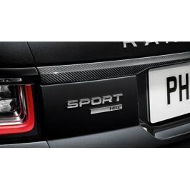 Накладка на заднюю дверь (карбон) Land Rover LR098814 для Land Rover Range Rover Sport 2018 -