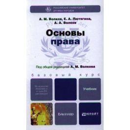 Волков А., Лютягина Е., Волков А. Основы права. Учебник для бакалавров