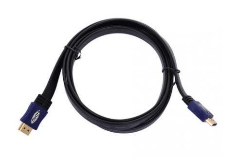 Кабель HDMI 19M/19M 3.0m ver:1.4 +3D/Ethernet Telecom [CG540D-3M] плоский Кабели и переходники