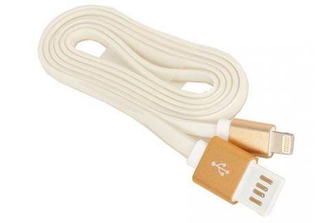 Кабель USB 2.0 Cablexpert, AM/Lightning 8P, 1м, золотой металлик Кабели и переходники