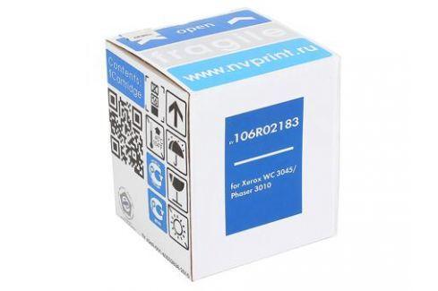 Картридж NV Print совместимый Xerox для Phaser 3010/40/WC 3045. Чёрный. 2300 страниц. (106R02183) Картриджи и расходные материалы