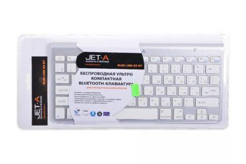 Клавиатура Bluetooth ультракомпактная Jet.A SlimLine K9 BT Silver для планшетных компьютеров Клавиатуры и комплекты