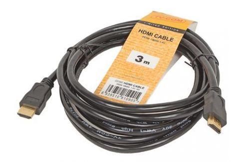 Кабель цифровой TV-COM HDMI19M to HDMI19M, V1.4+3D, 3m (CG150S-3M) Кабели и переходники