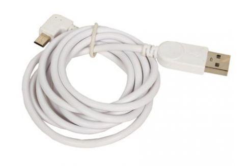 Кабель USB 2.0 Orient MU-215RL, Am - micro-Bm (5pin) угловой, левый поворот 90гр, 1.5 м, белый Кабели и переходники
