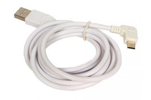 Кабель USB 2.0 Orient MU-215RB, Am - micro-Bm (5pin) угловой, правый поворот 90гр, 1.5 м, белый Кабели и переходники