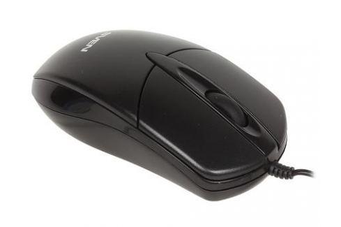Мышь SVEN RX-112 PS/2 чёрная, 2+1 клавиши, симметричная форма, коробка цвет Мыши