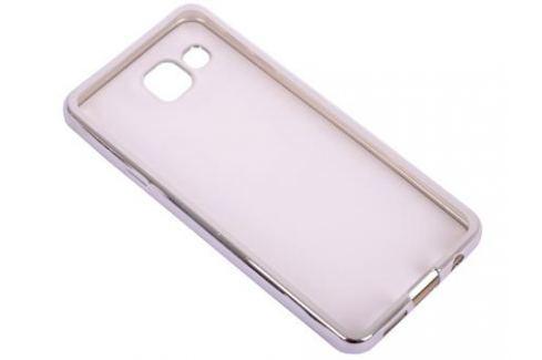 Силиконовый чехол с рамкой для Samsung Galaxy A3 (2016) DF sCase-22 (silver) Сумки