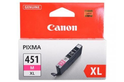 Картридж Canon CLI-451M XL для MG6340, MG5440, IP7240 . Пурпурный. 660 страниц. Картриджи и расходные материалы