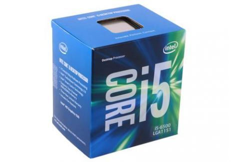 Процессор Intel Core i5-6500 BOX 3.2GHz, 6Mb, LGA1151, Skylake Процессоры