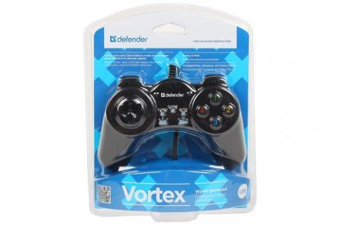Геймпад проводной Defender Vortex USB, 13 кнопок Джойстики и геймпады