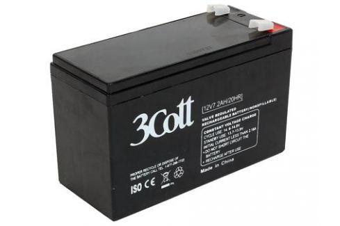 Аккумулятор 3Cott 12V7.2Ah Системы бесперебойного питания