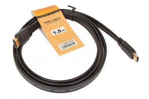 Кабель HDMI TV-COM 19M/M 1.4V плоский 1.5m (CG200F-1.5M) Кабели и переходники