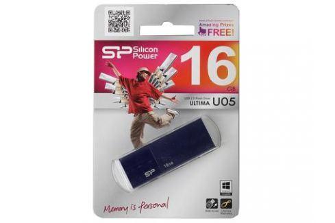 USB флешка Silicon Power Ultima U05 Blue 16GB (SP016GBUF2U05V1D) Флешки