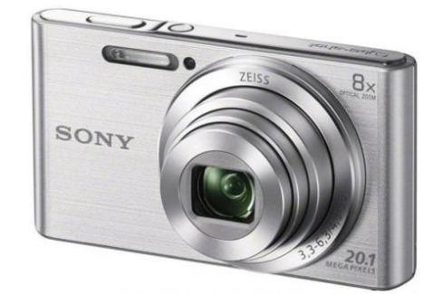Фотоаппарат SONY DSC-W830S Silver (20Mp, 8x zoom, 2.7