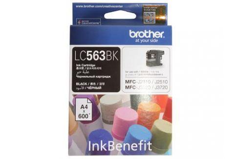 Картридж струйный Brother LC563BK Картриджи и расходные материалы