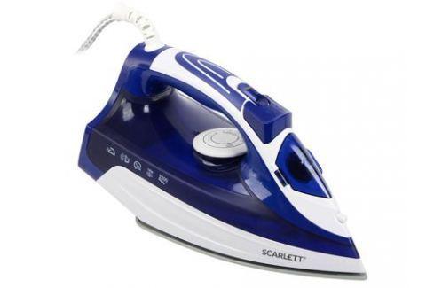 Утюг Scarlett SC-SI30K22 2200Вт белый синий Утюги