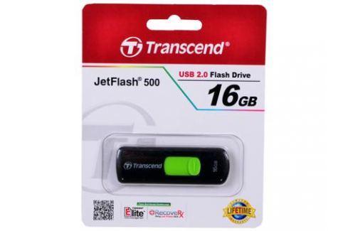 USB флешка Transcend 500 16GB (TS16GJF500) Флешки