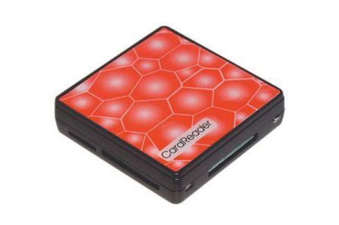 Картридер USB 2.0 Konoos UK-15, 5 разъемов для карт памяти (SD/MMC/SDHC/MS/M2/XD/TF) Картридеры