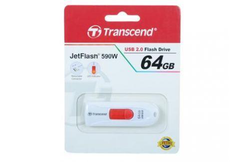 USB флешка Transcend 590 64GB (TS64GJF590W) Флешки