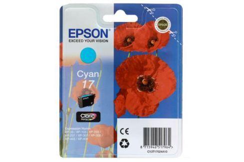 Картридж Epson Original T17024A10 Expression Home XP голубой Картриджи и расходные материалы