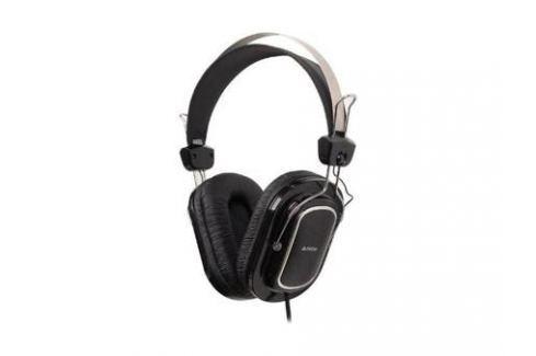 Гарнитура A4Tech HS-200 3.5мм черный Микрофоны и наушники