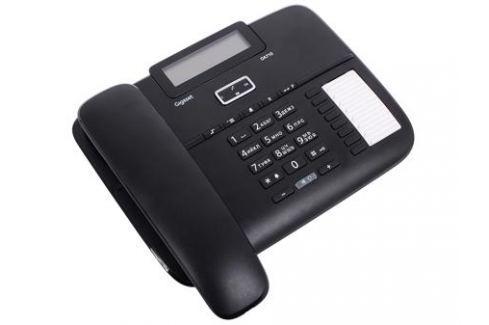 Телефон Gigaset DA710 Black (проводной, ЖКИ, АОН) Телефония